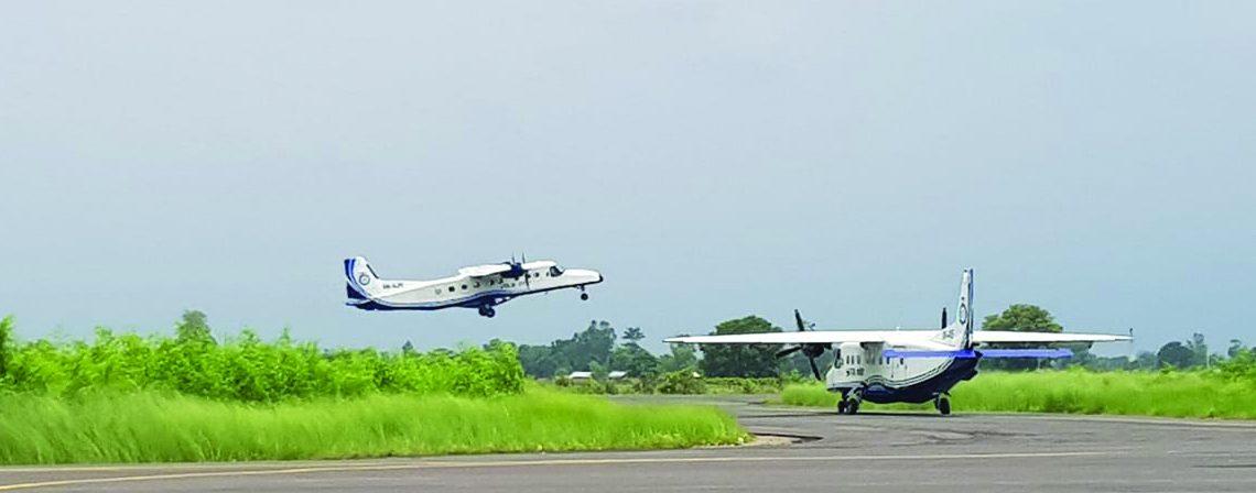 Flight to Nepalgunj